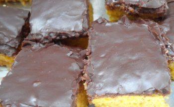Cobertura de chocolate durinha deliciosa