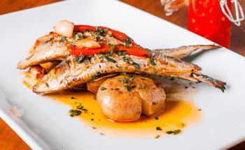 A melhor receita de anchova assada