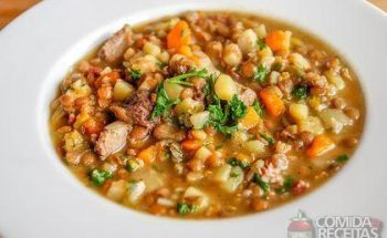 A melhor sopa de lentilha