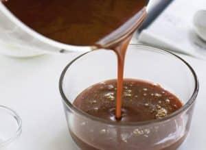 Calda para molhar bolo de chocolate