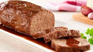Receita de carne assada no forno