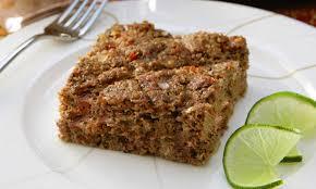 Comida arabe - Kibe assado