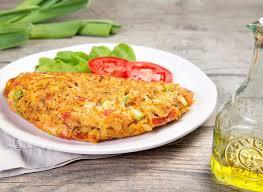 Omelete de frango rápido - Sensacional