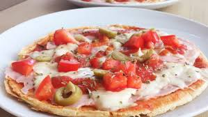 Crepioca de pizza em 3 passos
