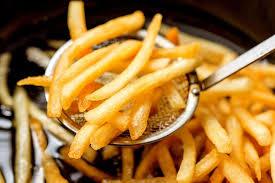 Batata frita sequinha com 1 ingrediente especial