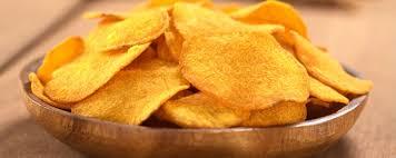 Chips de batata doce em 30 minutos