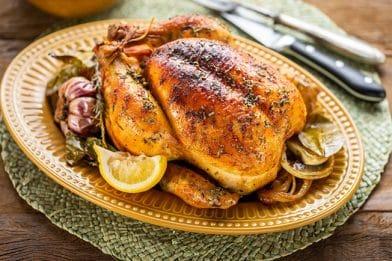 Tempero caseiro para frango