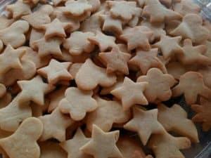 biscoito de farinha de trigo