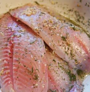 tempero para peixe