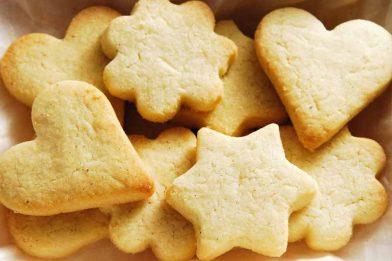 Biscoito de manteiga caseiro