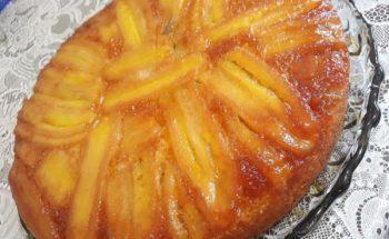 Receita de bolo de banana caramelada