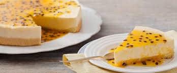 Torta de maracuja com 8 ingredientes