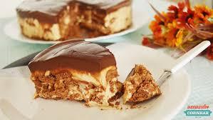 Torta doce de chocolate, doce de leite e licor de cacau