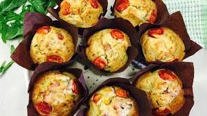 Muffin salgado em 6 passos
