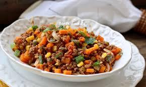 Receita de carne moida com legumes