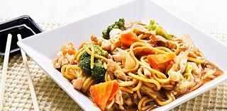 Yakisoba com frango - Delicioso e prático!