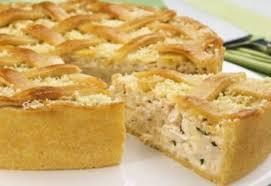 Receita de torta de liquidificador com palmito em 40 minutos