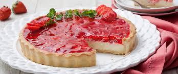 Torta de morango em 50 minutos