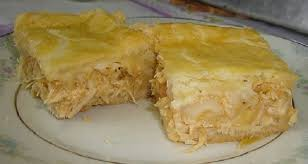 Torta de frango cremosa em 40 minutos