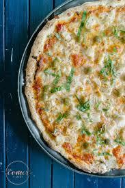 massa de pizza facil
