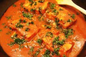 peixe cozido