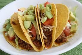 Comida mexicana - Tacos originais