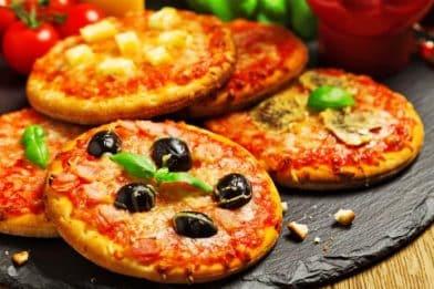 A melhor receita de pizza brotinho