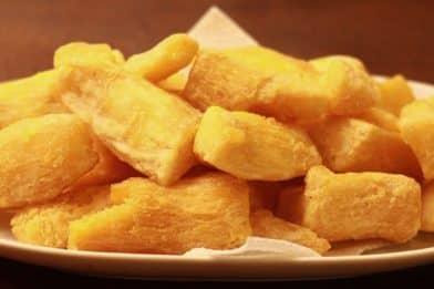Melhor receita de macaxeira frita