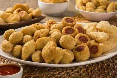 Massa de batata para salgados