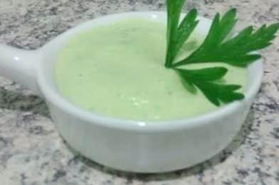 Molho para salada verde