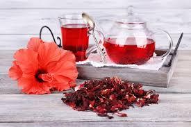 Receita de chá de hibisco rápido