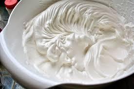 chantilly com creme de leite
