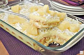 creme de abacaxi para bolo