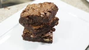 Receita de brownie com casquinha crocante