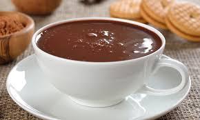 Receita de gemada com chocolate