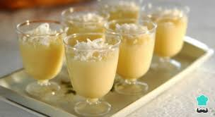 Receita de mousse de leite ninho simples