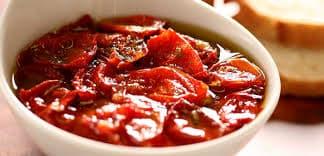 Tomate seco caseiro em conserva