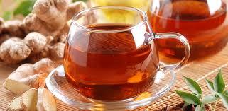Receita de chá de gengibre simples