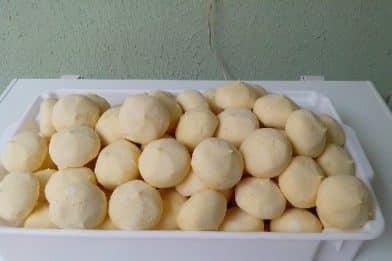 Pão de queijo para congelar