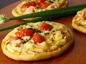 Massa para mini pizza