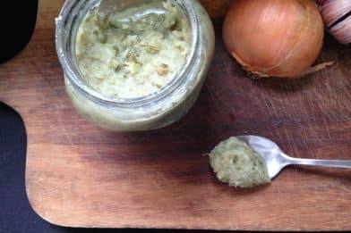 Melhor receita de tempero caseiro alho e cebola