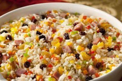 Receita deliciosa de arroz a grega