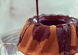 calda para molhar bolo