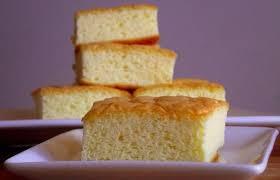 bolo de maizena