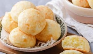 Pão de queijo de 3 ingredientes