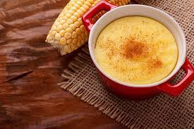 Curau de milho fácil e prático