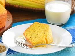 Delicioso bolo de milho com leite condensado