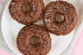 Receita prática de rosquinhas de chocolate
