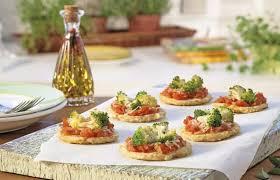 Receita básica de mini pizza