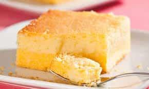 Receita deliciosa de bolo de milharina